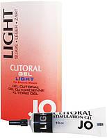 Гель для стимуляции клитора (легкого действия) JO Clitoral Stimulation Gel Light, 10 мл.
