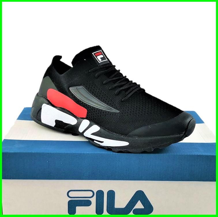 Кросівки FILA Чорні Чоловічі Філа (розміри: 41,42,43,44,45,46) Відео Огляд