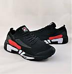 Кросівки FILA Чорні Чоловічі Філа (розміри: 41,42,43,44,45,46) Відео Огляд, фото 2