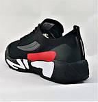 Кросівки FILA Чорні Чоловічі Філа (розміри: 41,42,43,44,45,46) Відео Огляд, фото 5