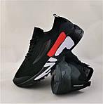 Кросівки FILA Чорні Чоловічі Філа (розміри: 41,42,43,44,45,46) Відео Огляд, фото 6
