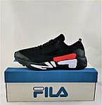 Кросівки FILA Чорні Чоловічі Філа (розміри: 41,42,43,44,45,46) Відео Огляд, фото 7