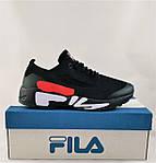 Кросівки FILA Чорні Чоловічі Філа (розміри: 41,42,43,44,45,46) Відео Огляд, фото 9