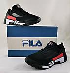 Кросівки FILA Чорні Чоловічі Філа (розміри: 41,42,43,44,45,46) Відео Огляд, фото 10