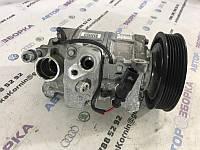 Компрессор кондиционера Audi A6 C7 3.0L TFSI 2014 год (б/у) 4G0260805A