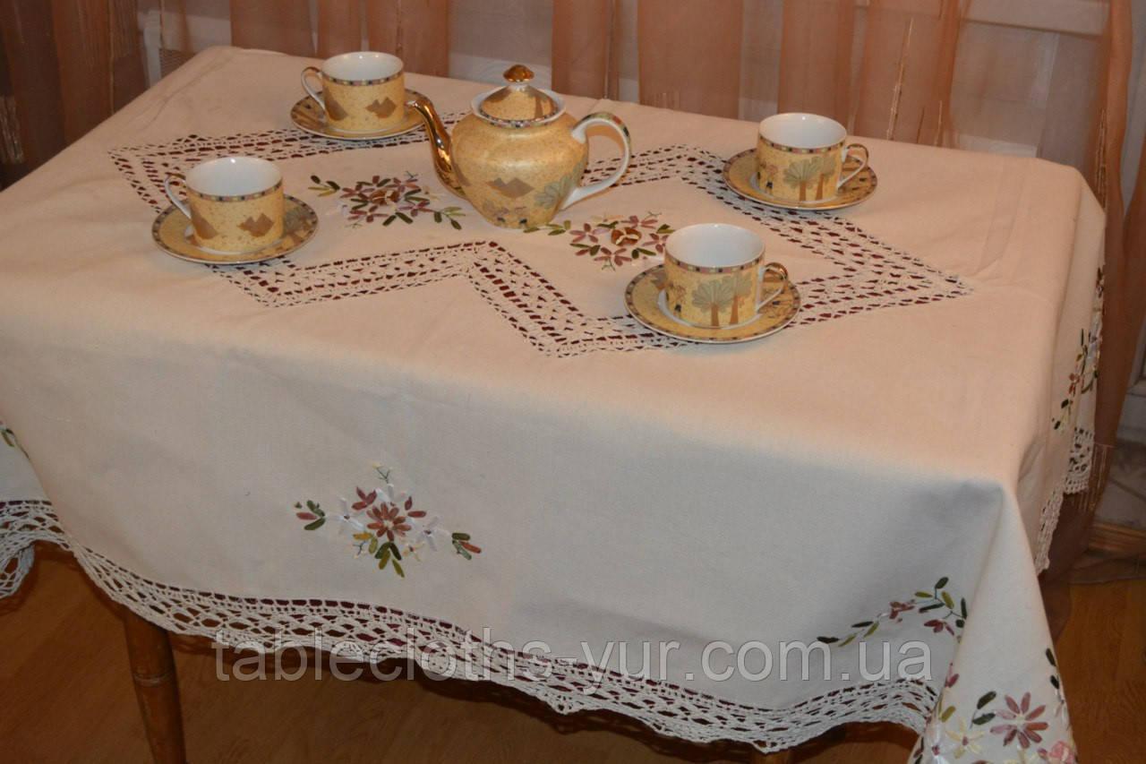 Скатерть лен 140 -180