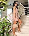 Жіночий костюм, американський креп - жатка, р-р 42-44; 46-48; 50-52 (кофенйый), фото 4