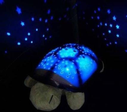 Черепаха-нічник-проектор зоряного неба для дітей Світильник черепашка музична з USB Turtle small 007-MH-2