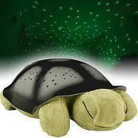 """Нічник-проектор зоряного неба для дітей """"Черепаха"""" музичний з USB Turtle small Зелений (007-MH-8)"""