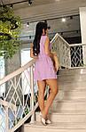Женский костюм, американский креп - жатка, р-р 42-44; 46-48; 50-52 (лиловый), фото 3
