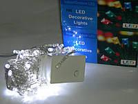 Гирлянда светодиодная на 100 ламп (прозрачный провод) УЦЕНКА!!!