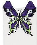 Набор 3 шт. Носки женские укороченные 3D Bross бабочка, фото 3
