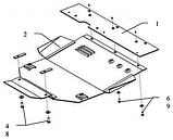 Защита картера двигателя и кпп Citroen Xsara Picasso  1999-, фото 4