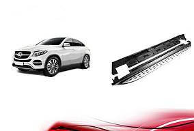 Боковые пороги (OEM) Mercedes GLE coupe C292