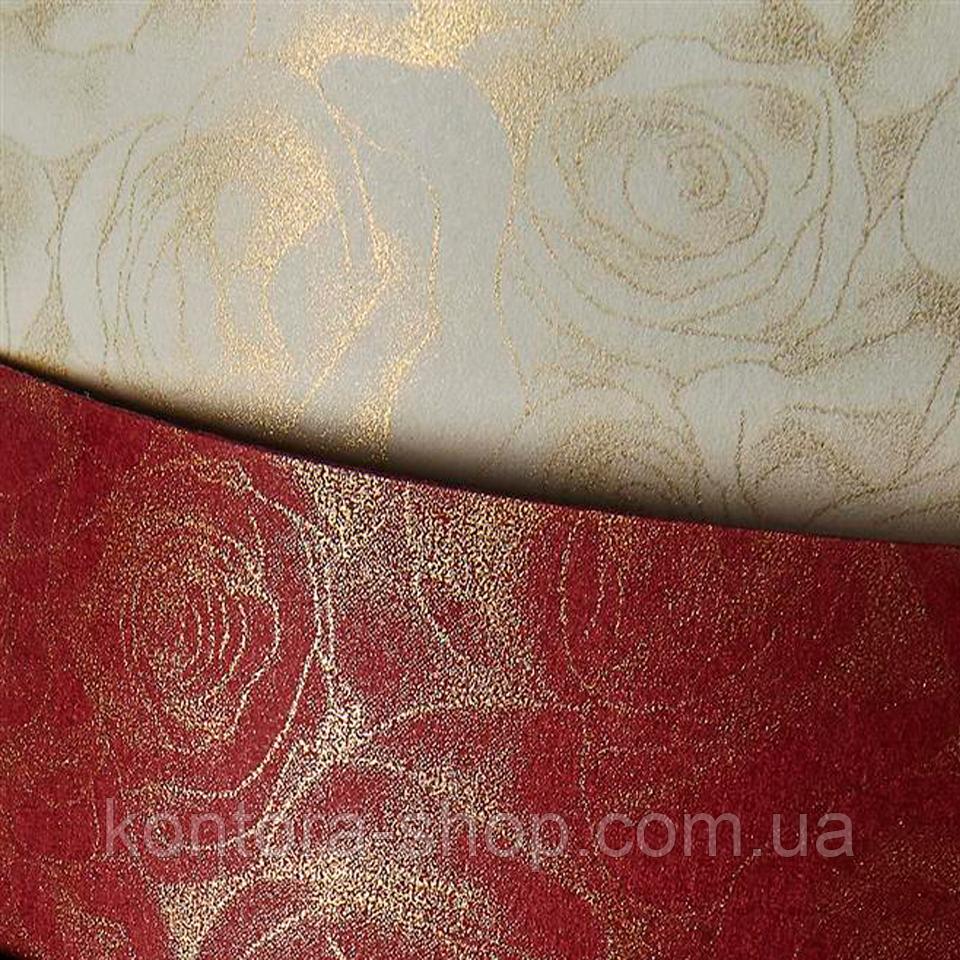 Картон дизайнерский Galeria Papieru Roses bordeaux, 220 г/м² (20 шт.)