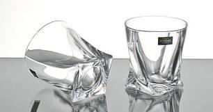 Стаканы для виски Bohemia Quadro 2k936/99A44/340 340 мл 6 шт, фото 2