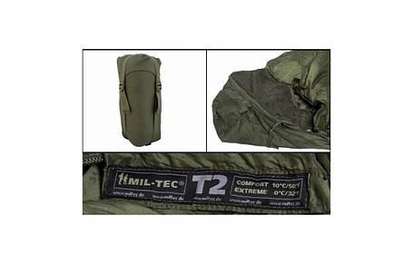 Спальный мешок Mil-Tec SCHLAFSACK TACTICAL 2 OLIV (14113802), фото 2
