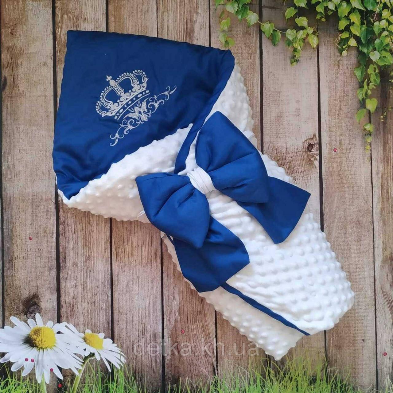 Конверт- одеяло для новорожденного весна/лето/осень