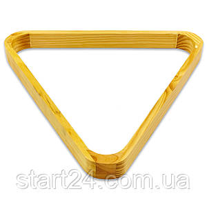 Треугольник для пула KS-7687-57 (дерево, диаметр шаров 57мм)