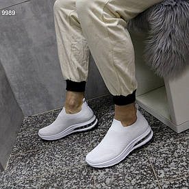 Кроссовки мужские белые 9989