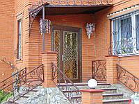 Вхідні двері двохстворчаті, Д-106