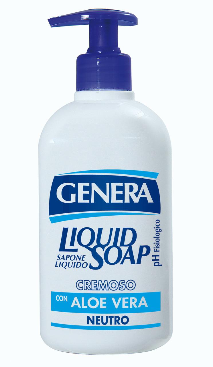 Жидкое мыло Алое вера GENERA  500мл