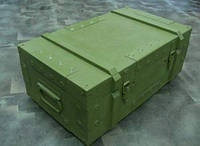 Армейская упаковка, ящик деревянный специальный
