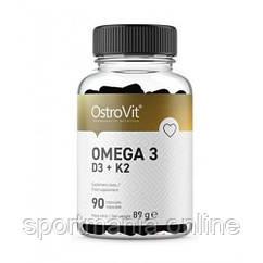 Omega 3 D3+K2 - 90 caps