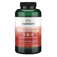 Omega 3-6-9 (Flax,Borge Fish) - 120 sgels