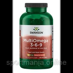 Omega 3-6-9 (Flax,Borge Fish) - 220 sgels