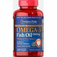 Omega-3 Triple Strength 1360mg - 120caps