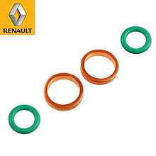 Уплотнительные кольца масляной трубки турбины (впуск) Renault Trafic (2001-2006) Renault (оригинал) 7701471140