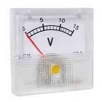 Вольтметр стрелочный SF-40 шкала 0-15V