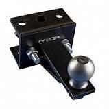 Переходной сцепной узел мототрактора под автомобильный прицеп Премиум, фото 2