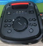 Колонка аккумуляторная ZXX partybox c радиомикрофонами (200W/USB/BT/FM/TWS), фото 6
