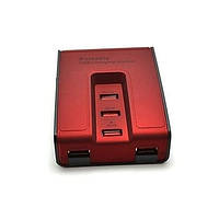 USB 2.0 HUB 5 портів ХАБ Червоний концентратор