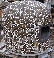 Мобильная печь для пиццы на дровах, маленькая