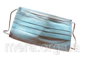 Маска медицинская нестерильная на резинках, фото 2