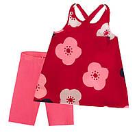 Костюм : Туника и шорты Losan Kids girls (416-8021AD/142) Малиновый 3 Years-98 см