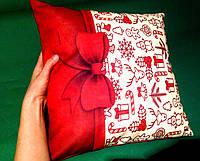 Новогодние и рождественские подушки