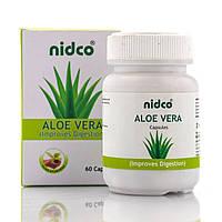 Алое віра в капсулах, Aloe vera Nidco, 60 кап.