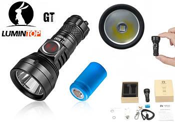 Дальнобойный мини EDC фонарик LUMINTOP GT NANO (440 люмен, 300 метров, USB, OSRAM, IPX8,1*10180) Супер подарок