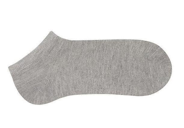 Носки женские укороченные Bross хлопок серые