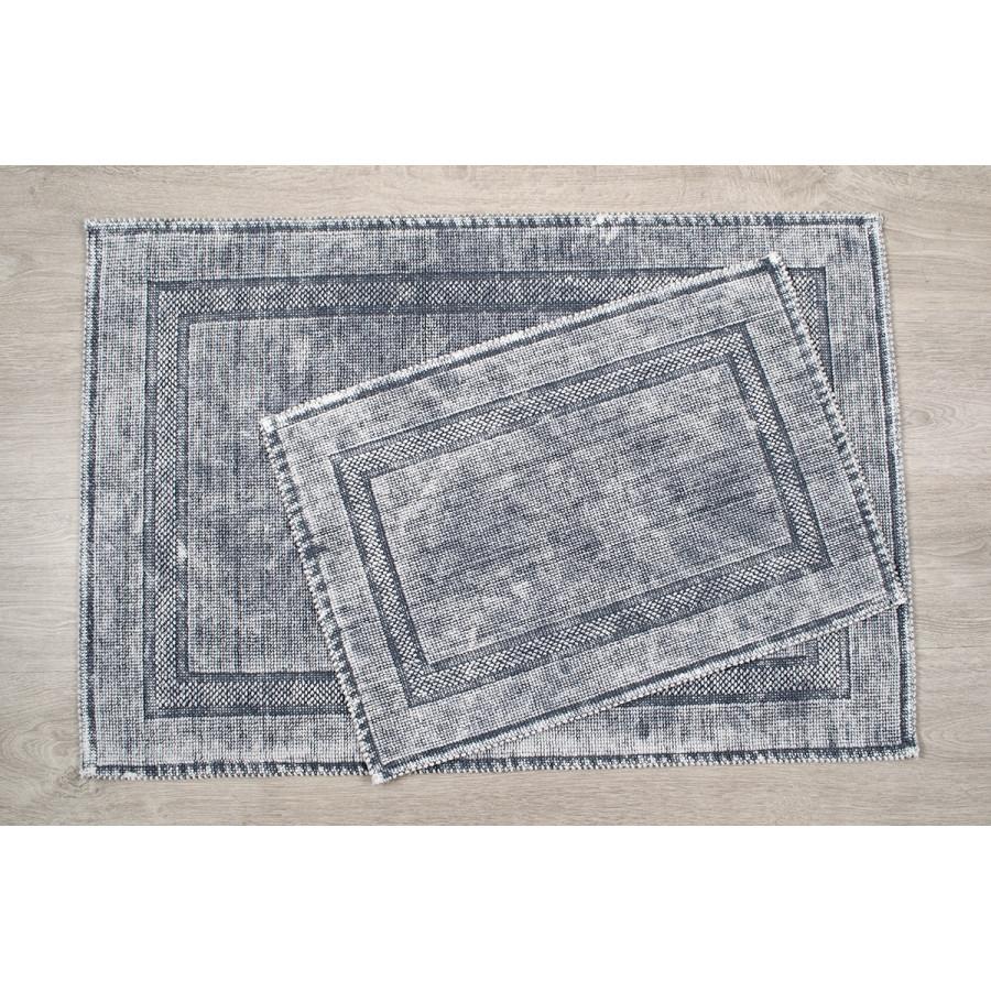 Набір килимків Irya - Empera a.gri світло сірий 60*90+40*60