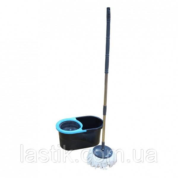 Набір для прибирання Zambak Plastik Lodos телескоп блакитний 13 л