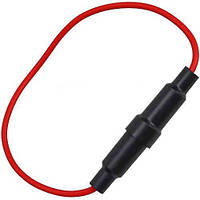 Держатель предохранителя (Fuse), 6х30мм, с кабелем (Тип2)