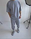 Мужской костюм спортивный стильный с футболкой, фото 2