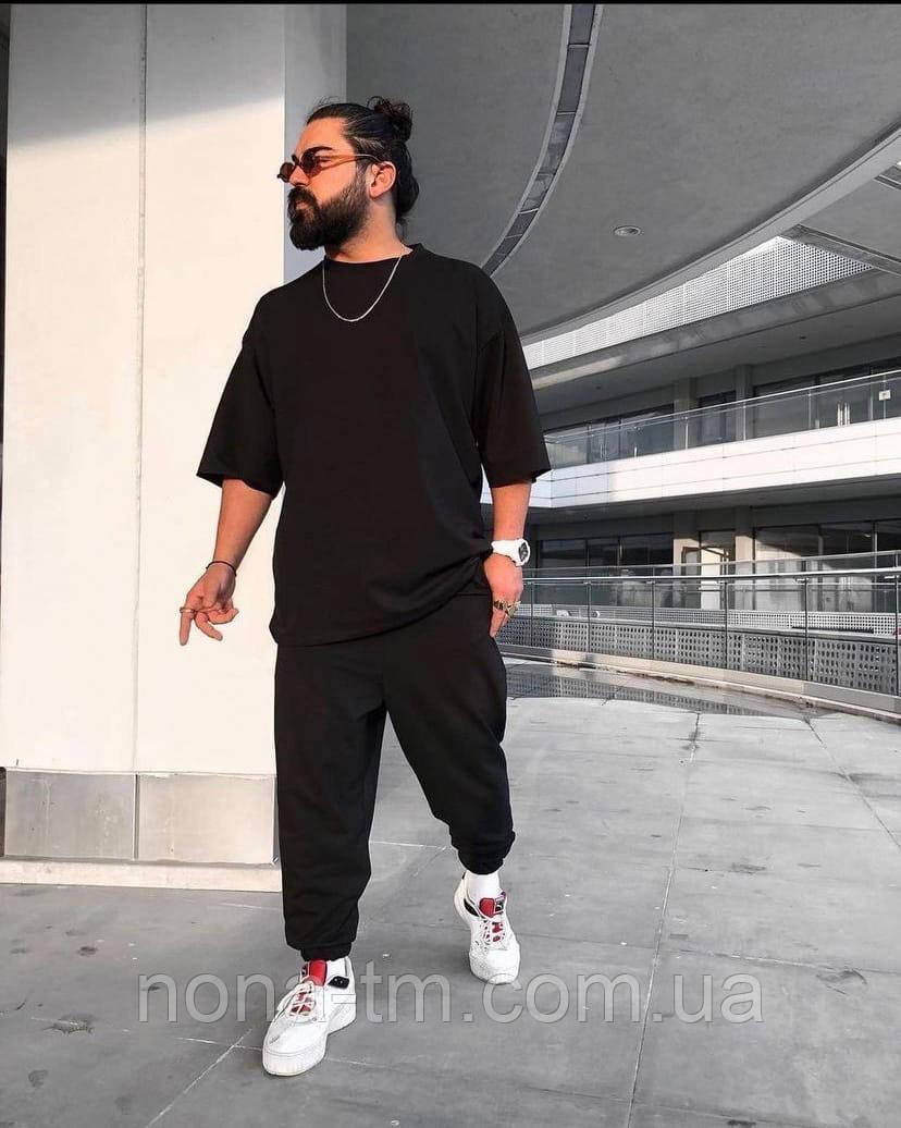 Чоловічий костюм стильний спортивний з футболкою