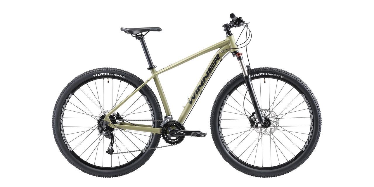 "Велосипед Winner SOLID-DX 27.5"" рама 19"" зеленый 2021 WI000180 (21-120)"