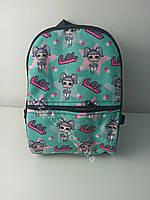 Детский рюкзак c принтом кукла lol для девочки